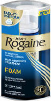How much is rogaine foam